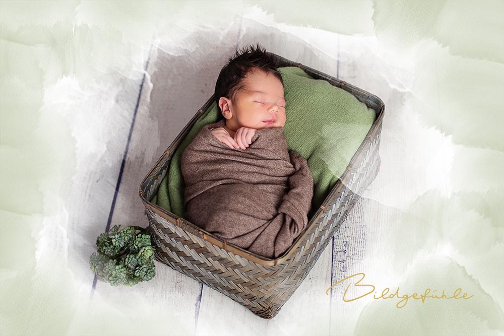 Watercolor Baby Fotografie Bildgefühle