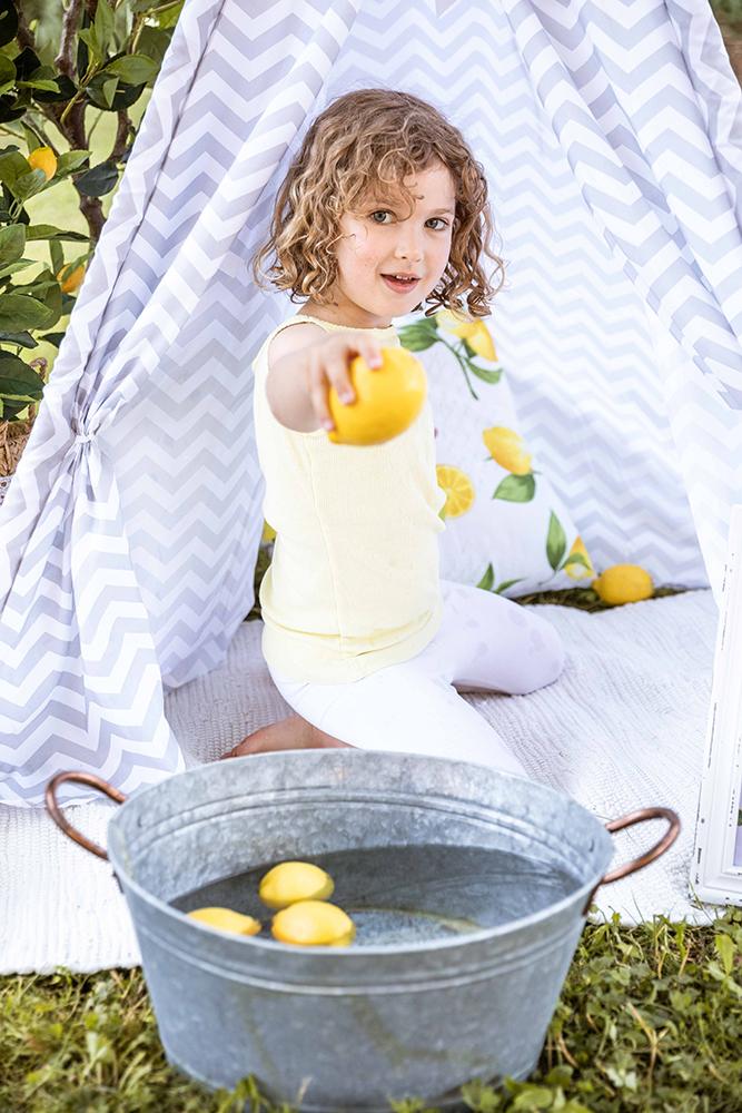 Zitronen Foto Kinderfoto Bildgefühle
