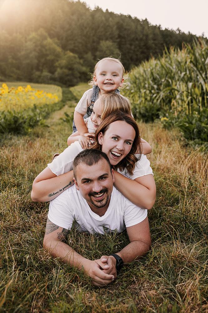 Familienfoto Bildgefühle Odenwald