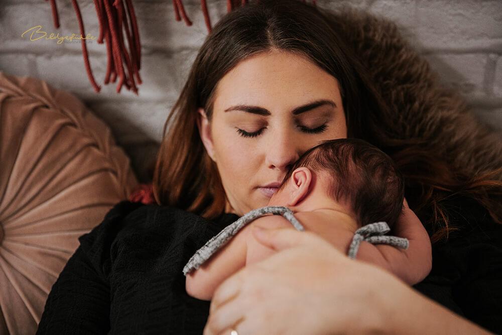 Neugeborenen Baby Fotografie Bildgefühle Odenwald